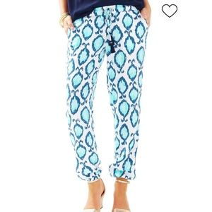 Lilly Pulitzer Piper Pull-On Ankle Pants